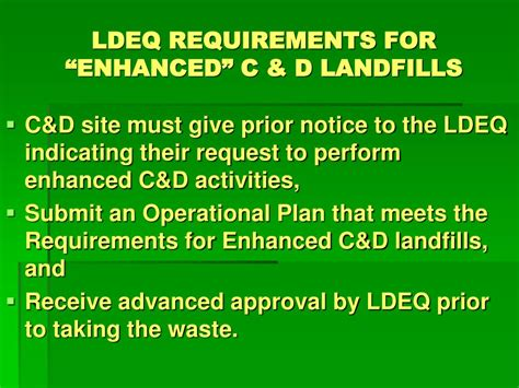 ldeq protocol  comply   leshap regulations