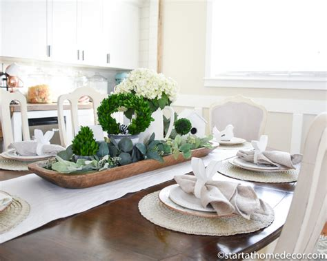 How To Create A Spring And Easter Tablescape  Start At