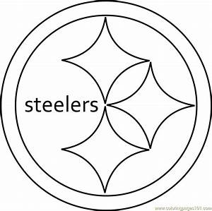 Pittsburgh Steelers Logo Coloring Page Free Nfl Coloring