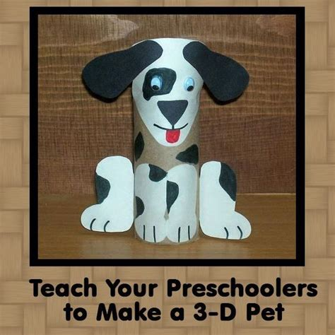 crafts for preschoolers crafts make a 3 d pet 568   6477045200e670942604d5e609de5b52