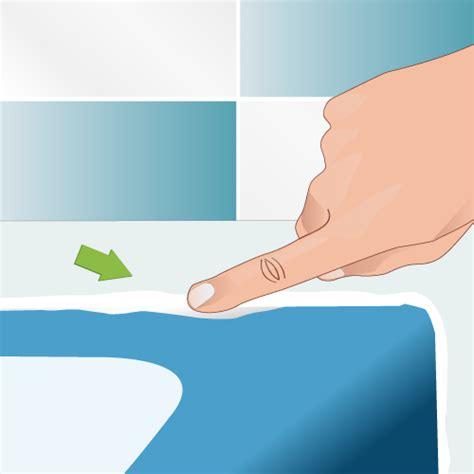 poser un joint de silicone salle de bain
