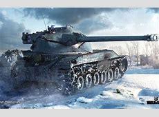 Wallpaper winter, snow, tank, average, World of Tanks