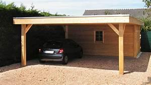 Abri Voiture En Bois : carport bois neuville moduland carports et abris ~ Nature-et-papiers.com Idées de Décoration