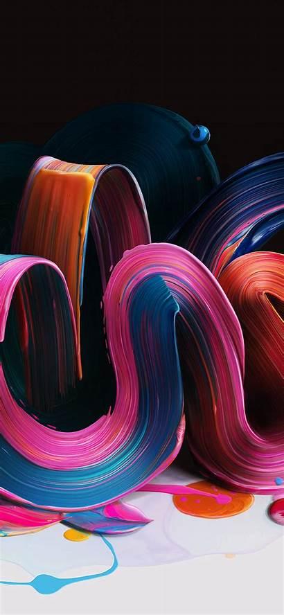 Iphone Digital Illustration Paint Rainbow Apple Bb21