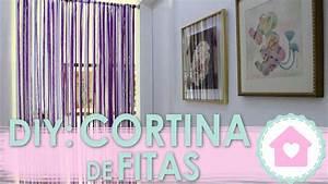 DIY Cortina De Fitas WFashionista YouTube
