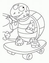 Skateboard Coloring Tortoise Pages Sulcata Printable Balanced Books Page6 Popular Getcolorings Coloringpages101 sketch template