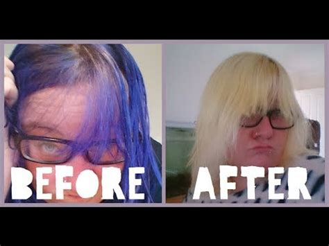 safely remove color  hair  damaging