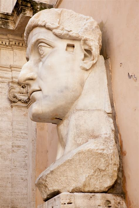 Colossal Statue of Constantine: Head - ReligionFacts