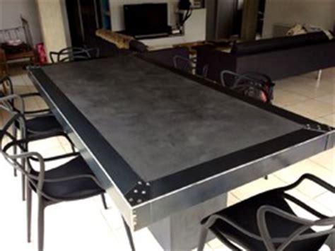table beton cirecom le site des tables en beton cire