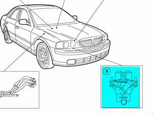 2002 Lincoln Ls V8 Engine Compartment Diagram