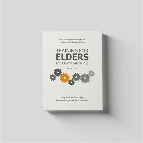 elders training  church leadership manual dove