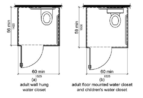 Standard Height Of Water Closet by Tas Chapter 6 Plumbing Elements And Facilities