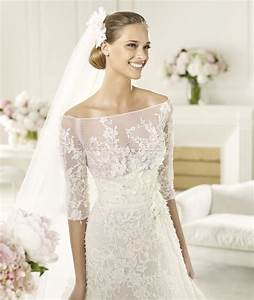 Pretty photos of lace wedding dresses with off the for Off the shoulder wedding dresses with lace sleeves