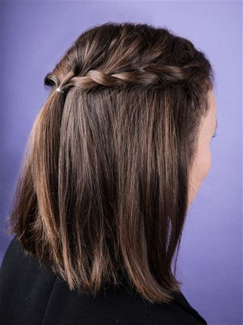 Die besten 17 Ideen zu Kurze Haare Flechten auf Pinterest