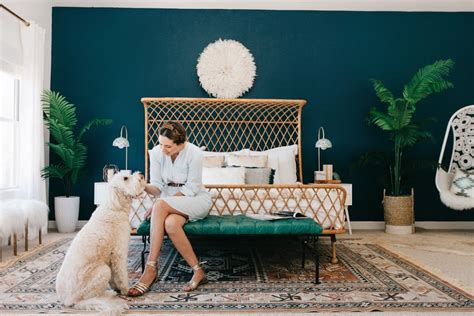 A Must See Modernbohemian Master Bedroom Makeover Decorist