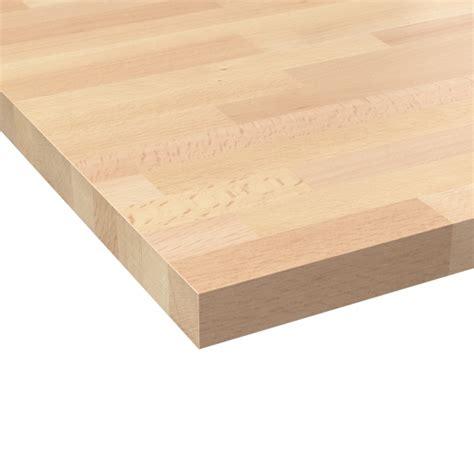 plan de travail cuisine n 602 hêtre lamelle bois massif