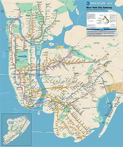 Lots Of Free Printable Maps Of Manhattan  Great For