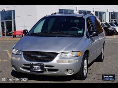 automotive repair manual 2000 chrysler town country navigation system 2000 chrysler town country lxi minivan youtube