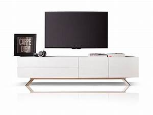 Tv Möbel Lowboard Weiß : becci tv lowboard wei ~ Indierocktalk.com Haus und Dekorationen
