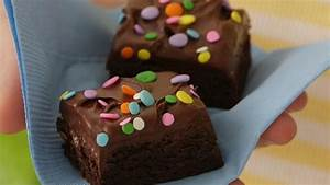 Candy-Sprinkled Frosted Brownies recipe from Betty Crocker
