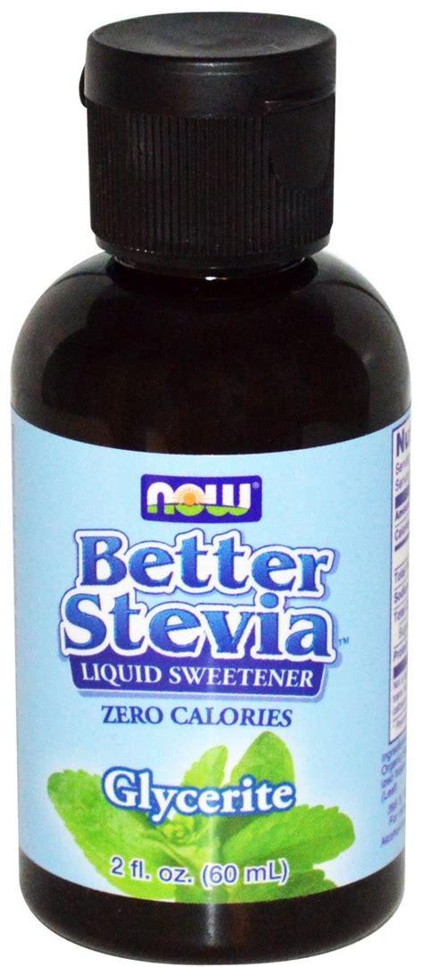 Now Foods Better Stevia Liquid Glycerite, 59ml Cooking