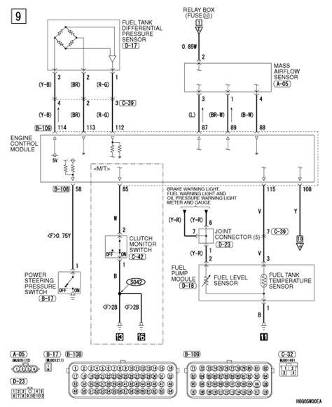 need wiring diagram for 2008 mitsubishi lancer gts mass