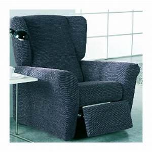 Housse Pour Canapé En Cuir : housse fauteuil relax extensible orion ~ Melissatoandfro.com Idées de Décoration