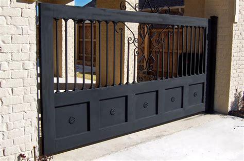 captivate front fence designs idea white brick wall and black iron gate loversiq