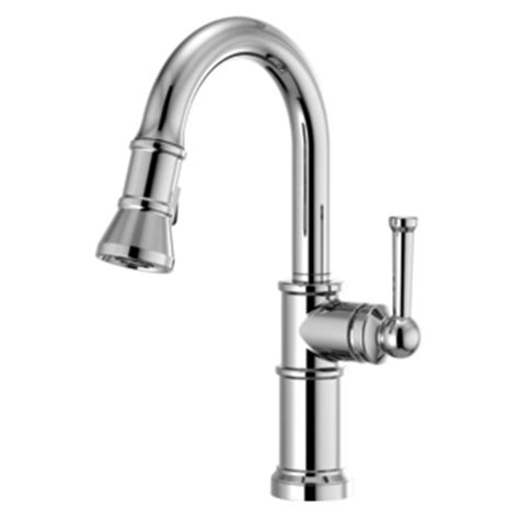 single handle pull down kitchen faucet with smarttouch
