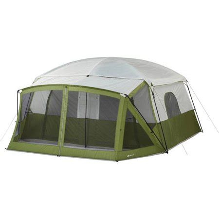 10 person tent with screened porch ozark trail 12 person cabin tent with screen porch