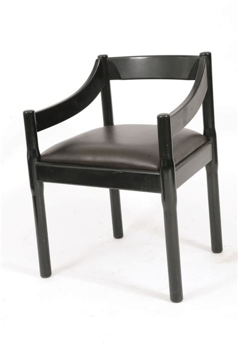8 dining chairs by vico magistretti for cassina