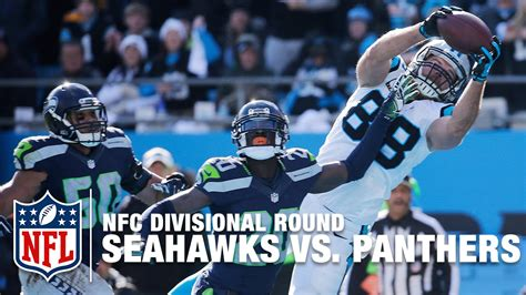 seahawks  panthers nfc divisional  greg olsen