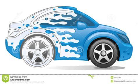 Wasserauto Vektor Abbildung Bild Von Automobil, Kunst