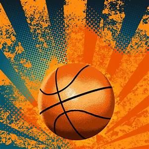Abstract basketball vectors