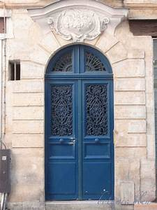 Botanic Bleu  Blue Doors In France