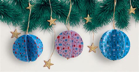 how to make your own christmas tree ornaments diy