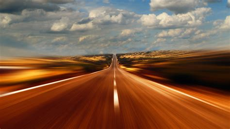 road  speed desktop pc  mac wallpaper