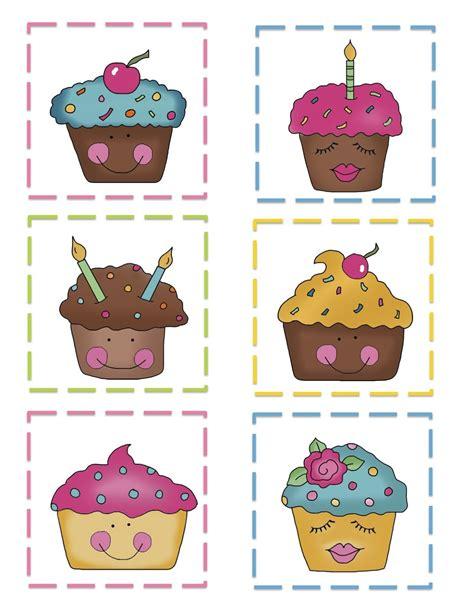preschool printables cupcake pattern cards homeschool 824 | 852a04d12b8e43e439ca51821e416e95