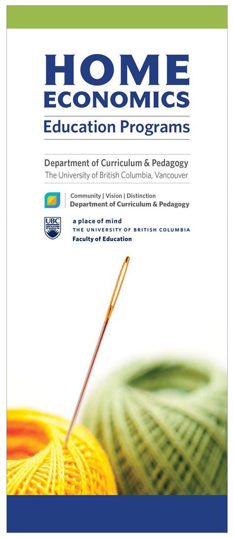 home economics education department  curriculum pedagogy