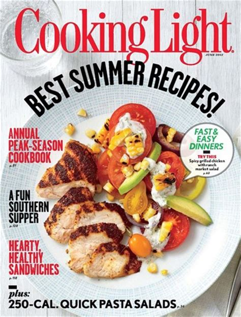 cuisine light cooking light magazine june 2013 eat your books