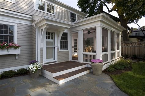 patio room addition paint revival remodel screened porch traditional