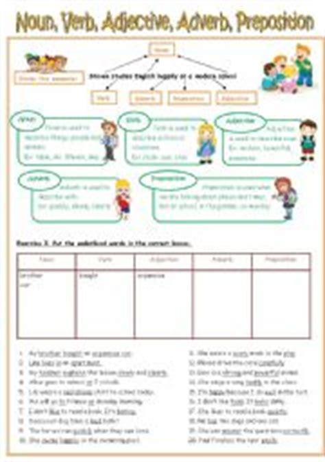 worksheets re uploaded worksheet noun verb