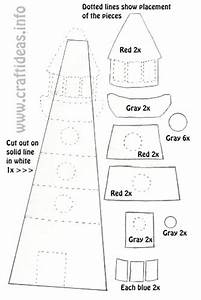 Summer Crafts and Patterns - Lightouse Template