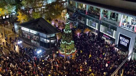 westlake holiday tree lighting to be downsized kiro tv