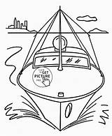 Coloring Boat Pages Speed Front Simple Transportation Drawing Printables Sheets Wuppsy Motor Printable Raft Water Easy Toddlers Print Getcolorings Getdrawings sketch template