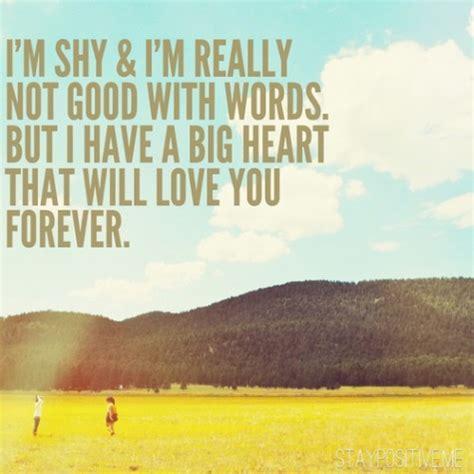 im shy  im   good  words