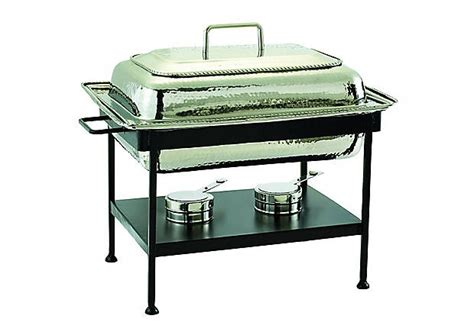 beautiful chafing dish  nickel chafing dishes  dutch specialty cookware