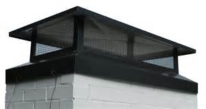 Custom Chimney Cap Roselawnlutheran Fireplace Chimney Caps Installation