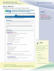 Medicare Ehr Incentive Program Registration User Guide For