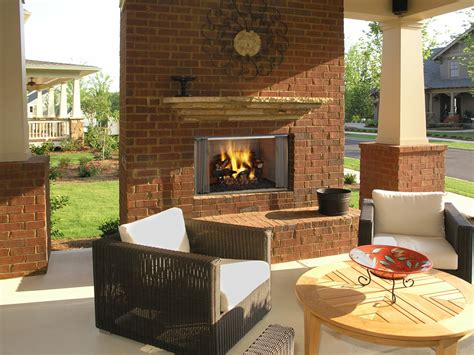 Heatilator Villawood 36 42 Outdoor Wood Fireplace